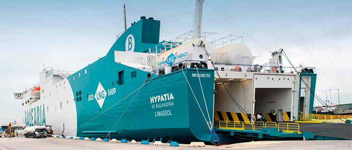 El buque es el medio de transporte más eficiente en el uso de la energía